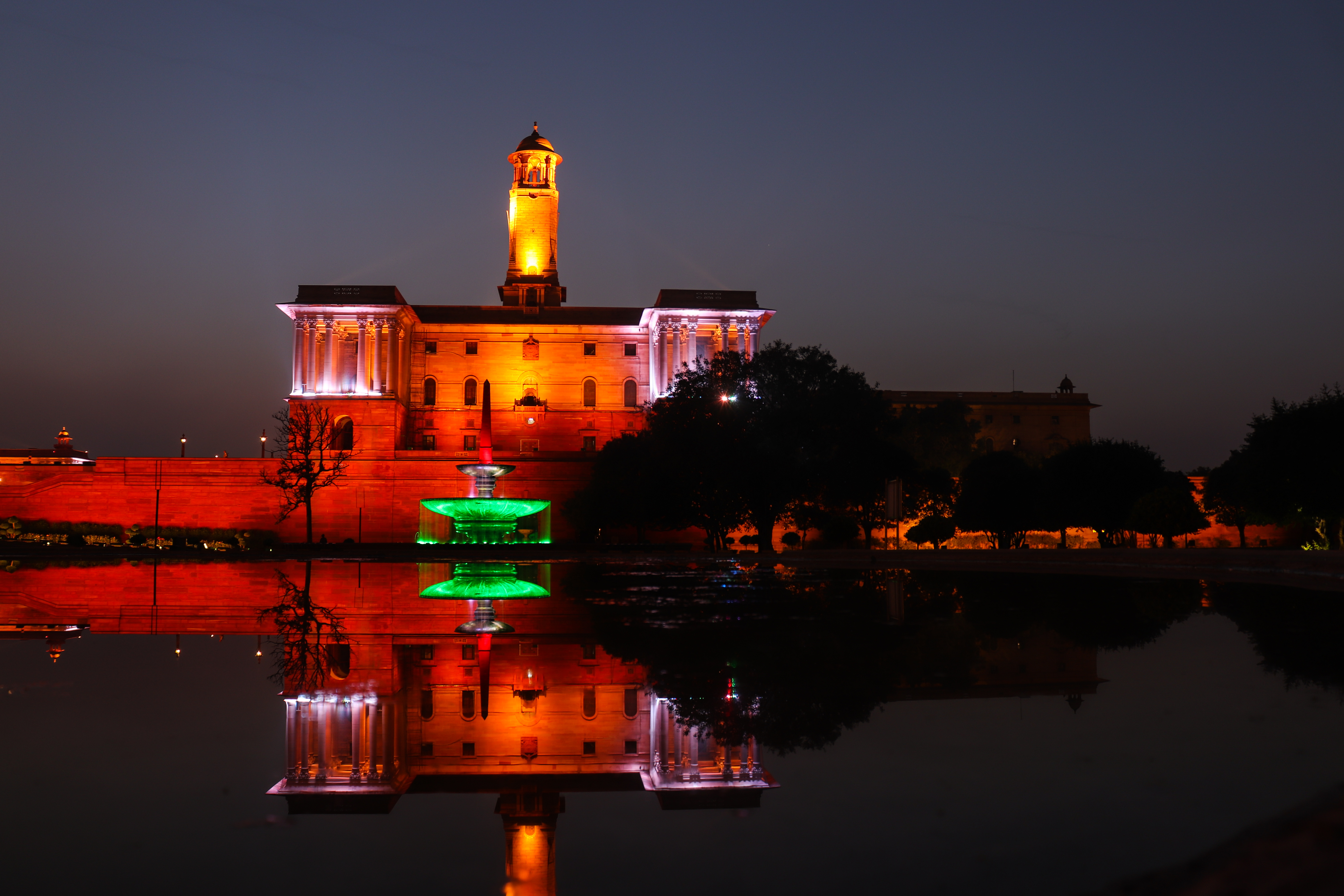 rashtrapati bahawan, new delhi, india, monuments, night-photography, delhi-monuments, long-exposure-photography