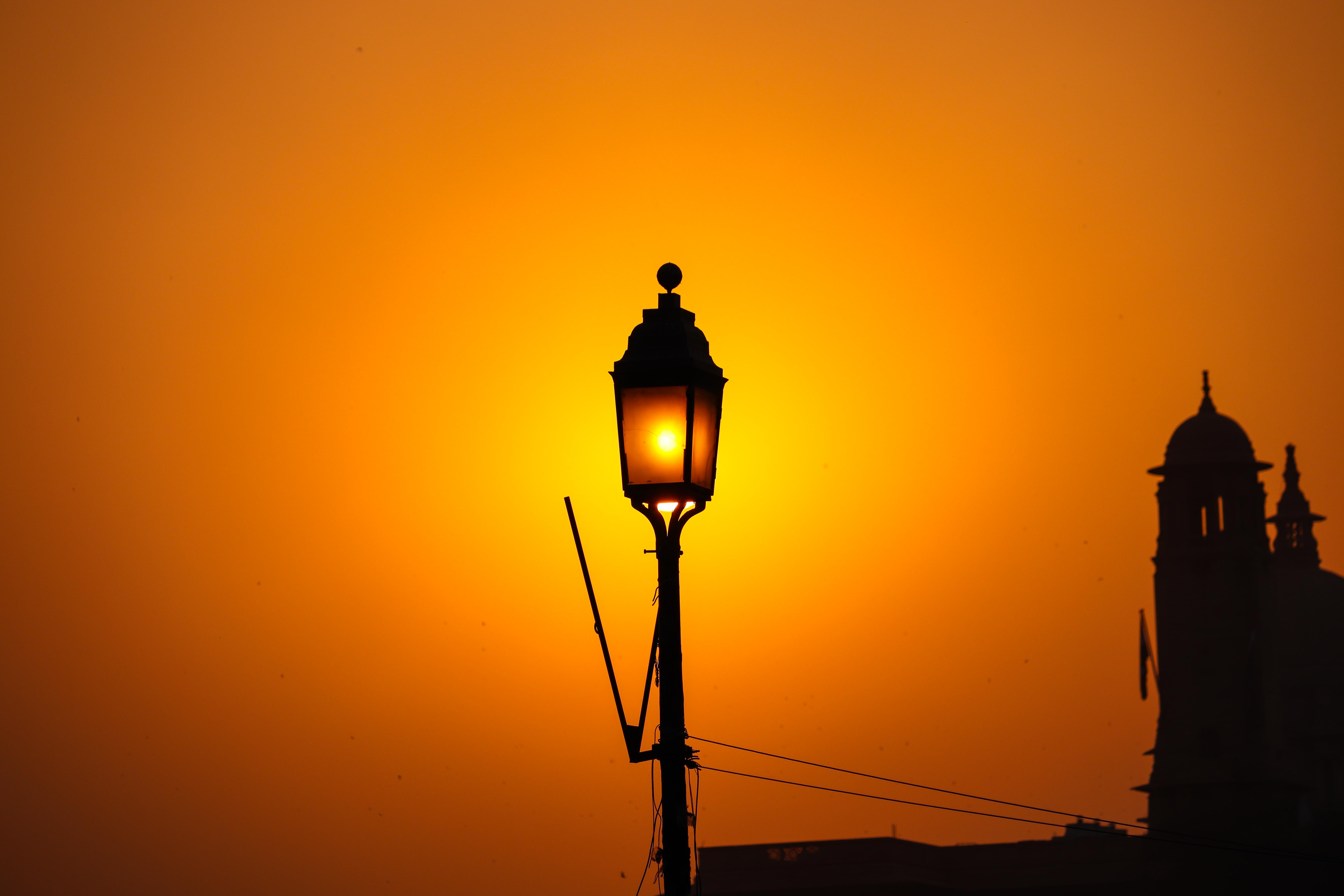 street light, new delhi, india, road, travel-delhi, delhi-monuments, Amar-Jawan-Jyoti, Shanti-Path