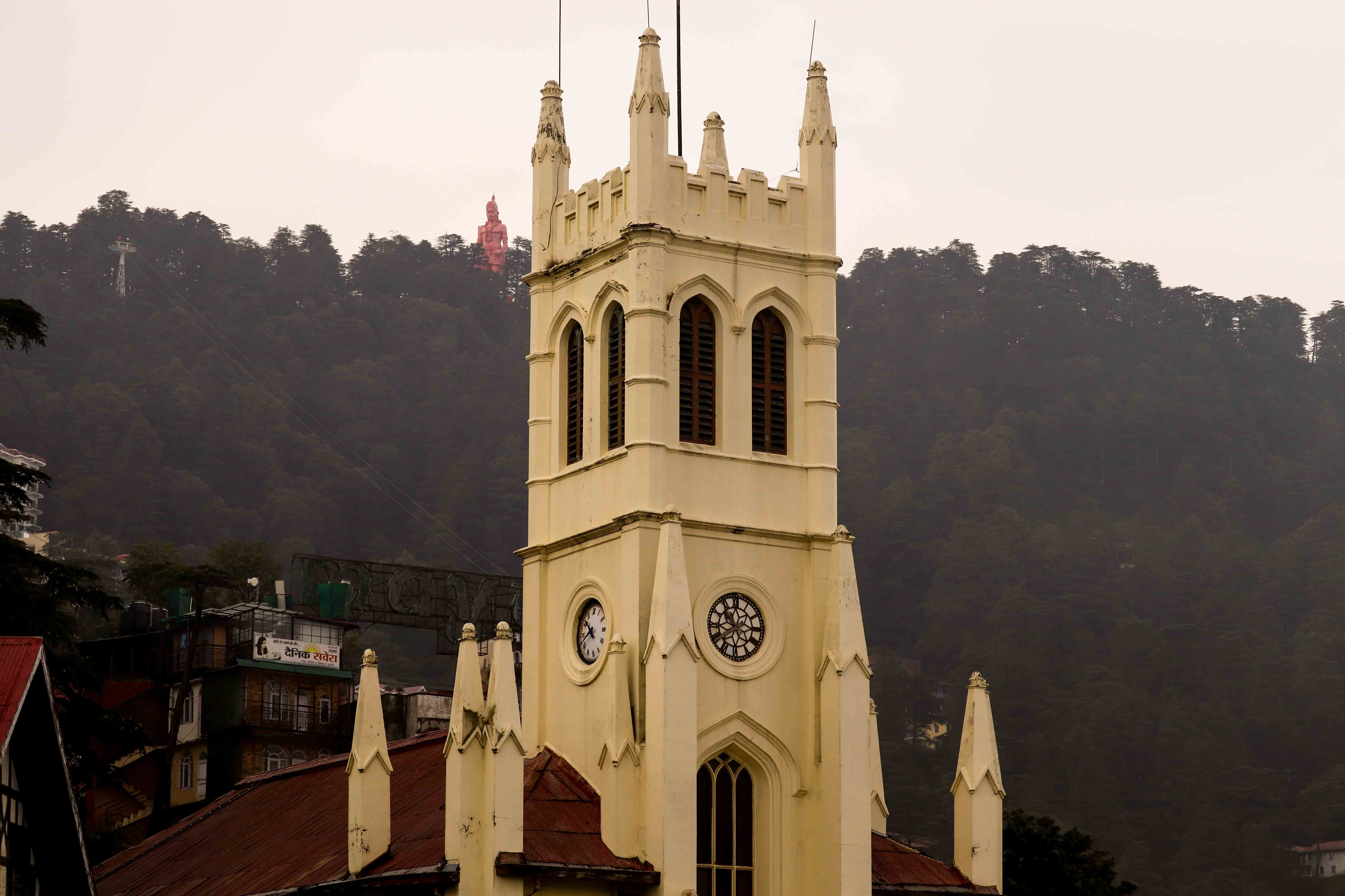 Shimla, Mall Road, Church, Himachal Pradesh