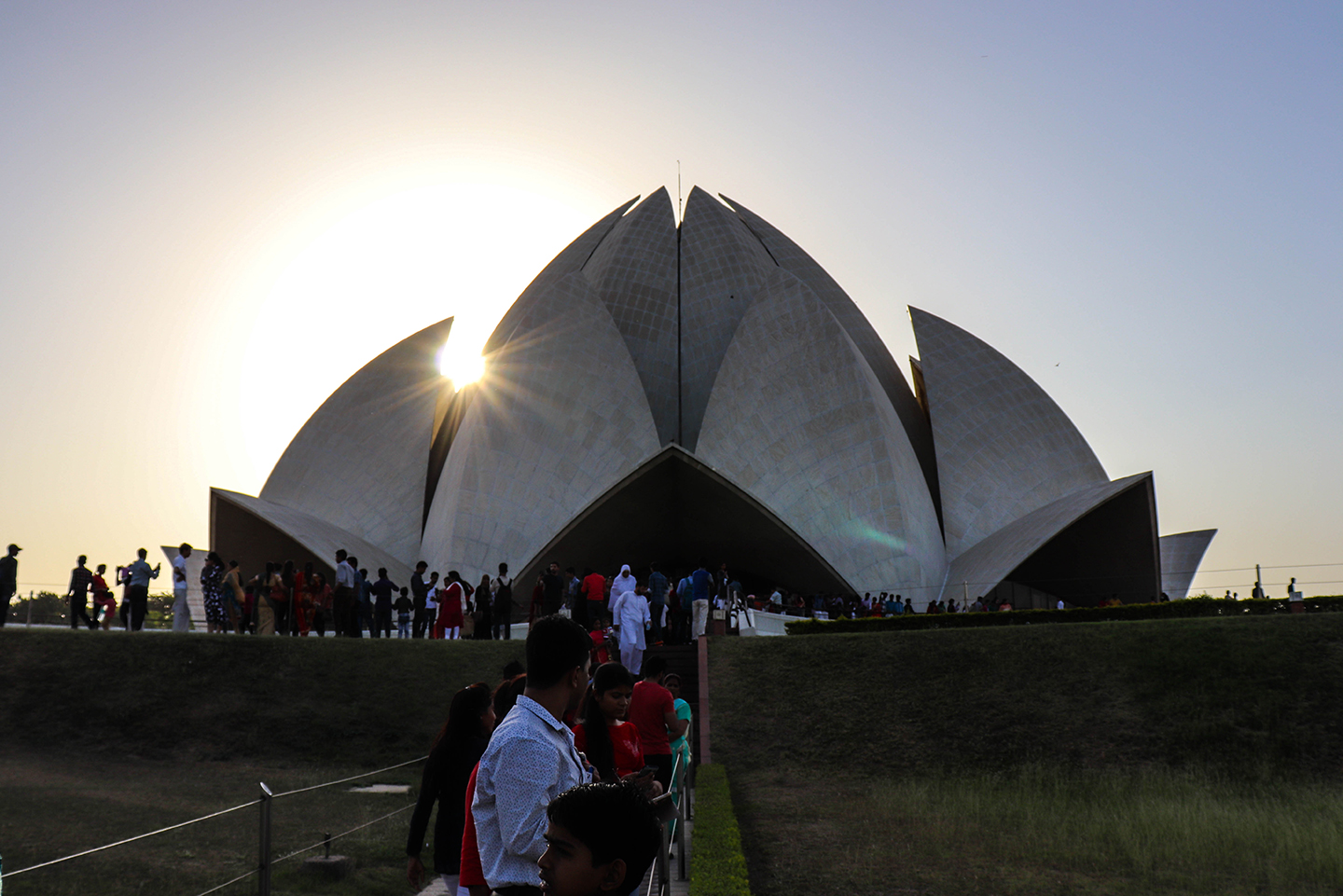Lotus Temple, New Delhi, Bahai House, Delhi monuments